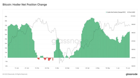 Bitcoin Hodler Net Position Change