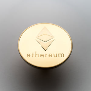 Gold/Silver Plated Ethereum Coin Collectible - Coinstop