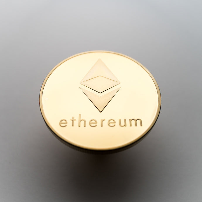 Gold/Silver Plated Ethereum Coin Collectable - Coinstop