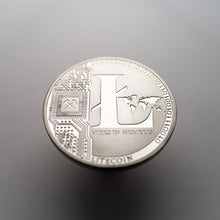 Silver Plated Litecoin Coin Collectable - Coinstop