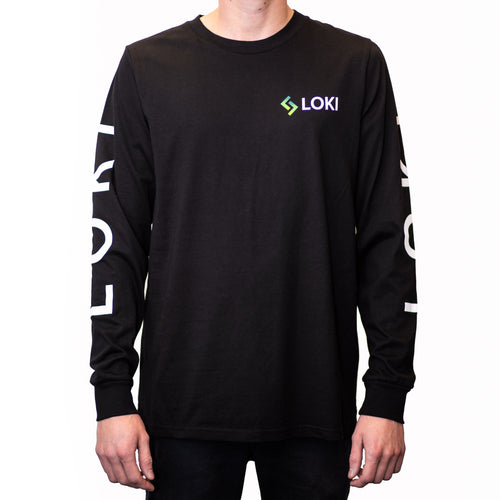 Loki Long Sleeve T Shirt - Coinstop