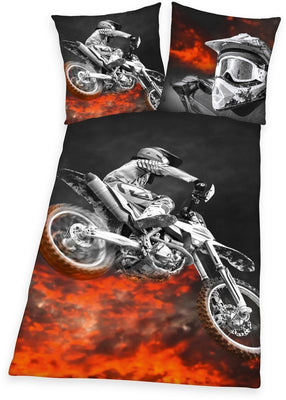 "Mladi posteljnina, Young Collection, »motorcross""**"