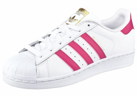 adidas Originals športni čevlji Superstar Foundation bela-zlata
