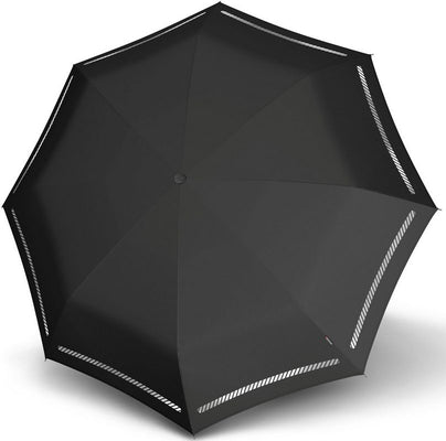 "Knirps Umbrella, ""Umbrella Stick Long AC odsevni črno""**"
