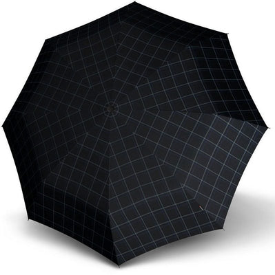 "Knirps Umbrella, ""Umbrella Stick Long AC preverite črna + modra""**"
