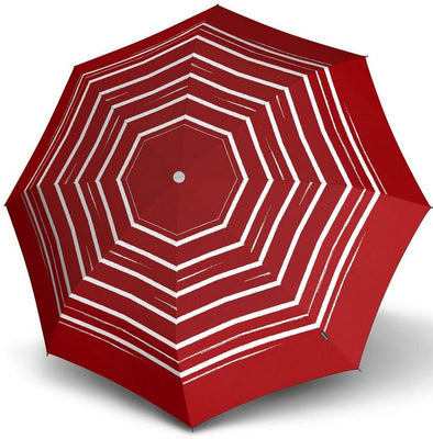 "Knirps Umbrella, ""Umbrella Stick Long AC črto art rdeč""**"