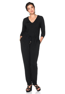 Sheego slog jumpsuit, s Wrap**