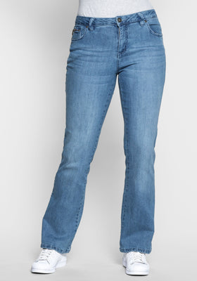 Sheego Denim boot-cut kavbojke,