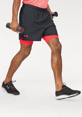 UNDER ARMOUR® 2-v-1 kratke hlače, »UNDER ARMOUR QUALIFIER 2-IN-1 SHORT«