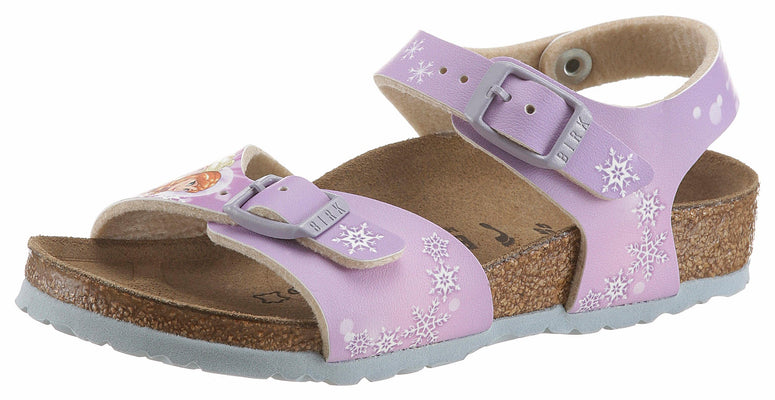 Birkenstock sandale, »RIO PLAIN FROZEN WINTER DREAM«