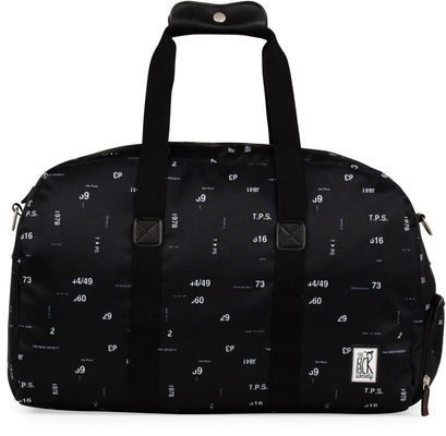 The Pack Society potovalka, »Weekender Cool Prints, black numbers allover«