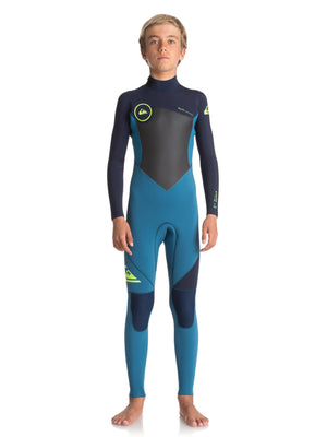 Quiksilver pajac iz neoprena, »3/2mm Syncro Series Back Zip GBS«