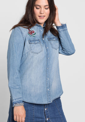 Sheego Denim bluza iz jeansa