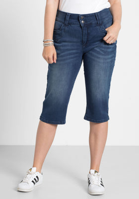 Sheego Denim capri kavbojke