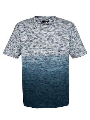 Men Plus by Happy Size T-Shirt z barvnim prelivom