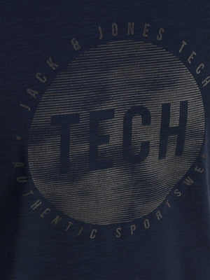 Jack & Jones Tech udobna T-Shirt