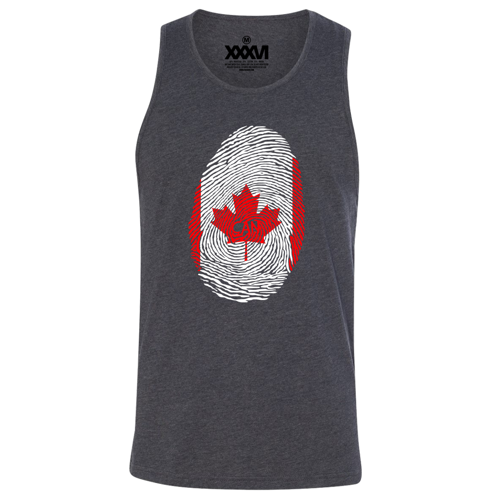 Canada Fingerprint Men Tank Top