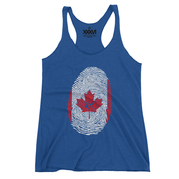 Canada Fingerprint Women Tank Top