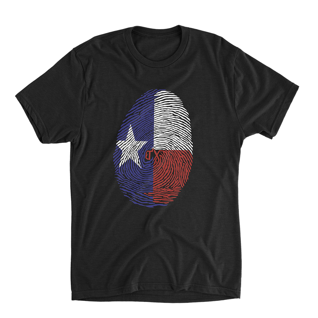 Texas Fingerprint Shirt