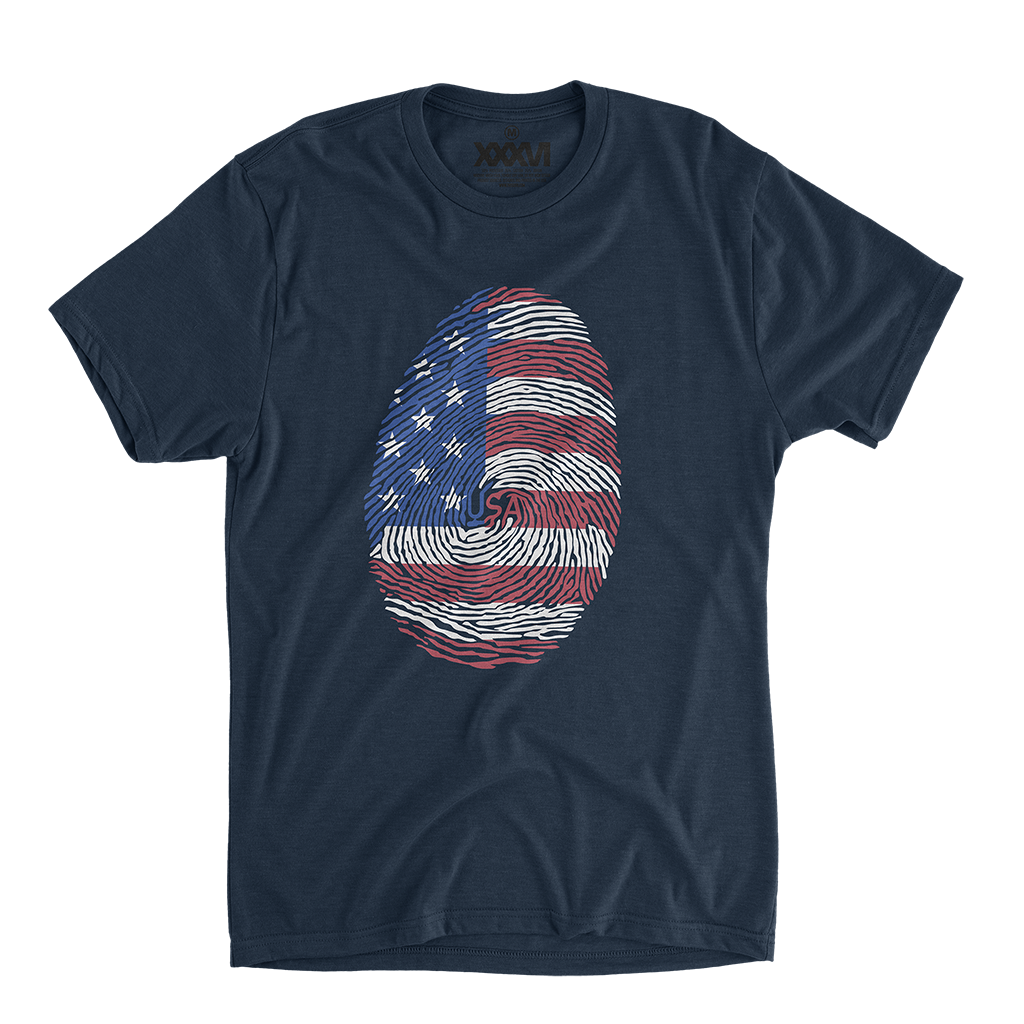 USA Fingerprint Shirt