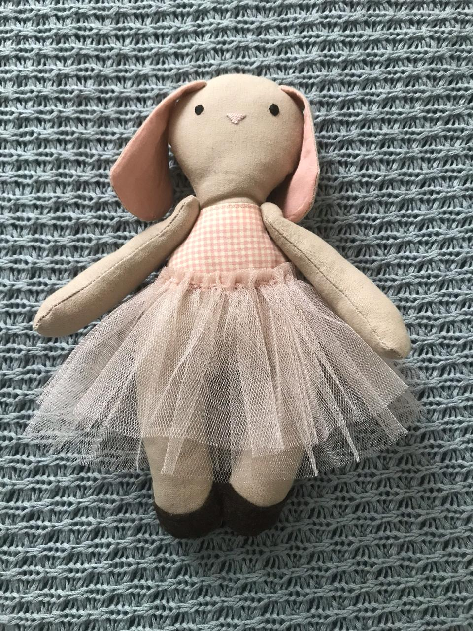 Baby bunny toy - girl