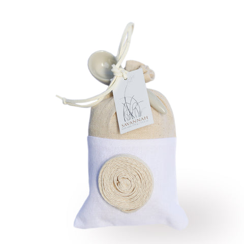 savannah bath salts bag