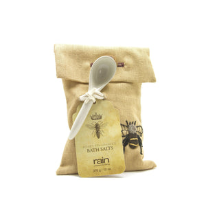 bee essential remedies honey fragranced bath salts-Rain Africa