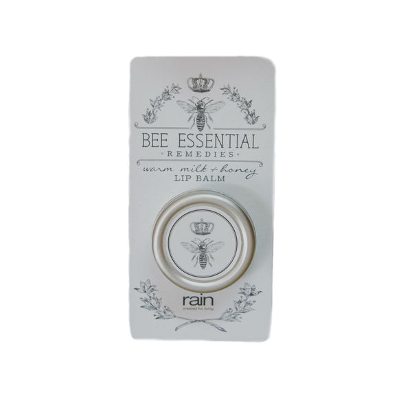bee essential remedies lip balm milk and honey-Rain Africa