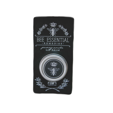 bee essential remedies pomegranate lip balm-Rain Africa