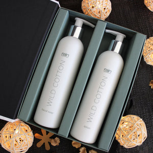 new look wild cotton wash & lotion set
