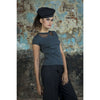 Blouse - Dark Grey Melange