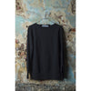 CRYSTAL CLEAR Sweatshirt - Pure Black