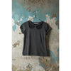 TROMPE L'OIEL Blouse short sleeve - Grey Melange