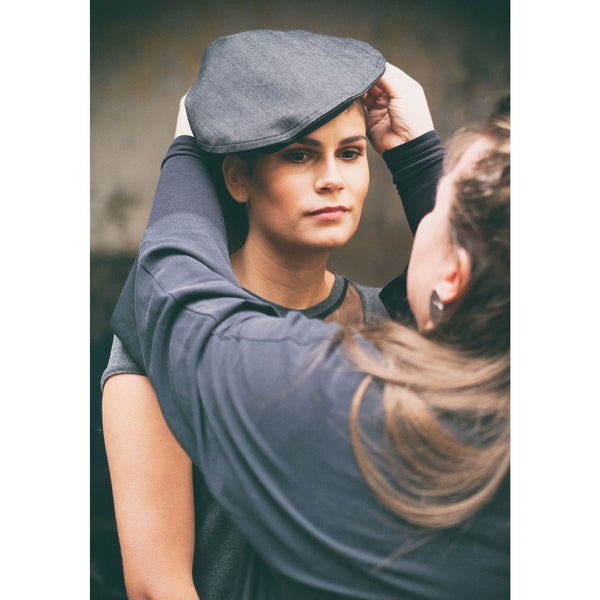 Urban BERET - denim