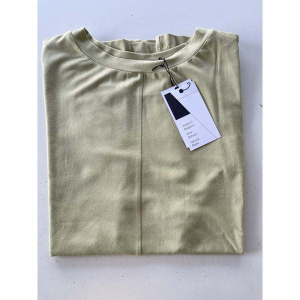 SHADOW Blouse - Bright Olive