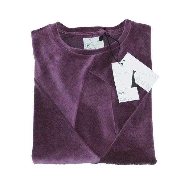 CRYSTAL CLEAR sweatshirt - VELVET - Pure Purple
