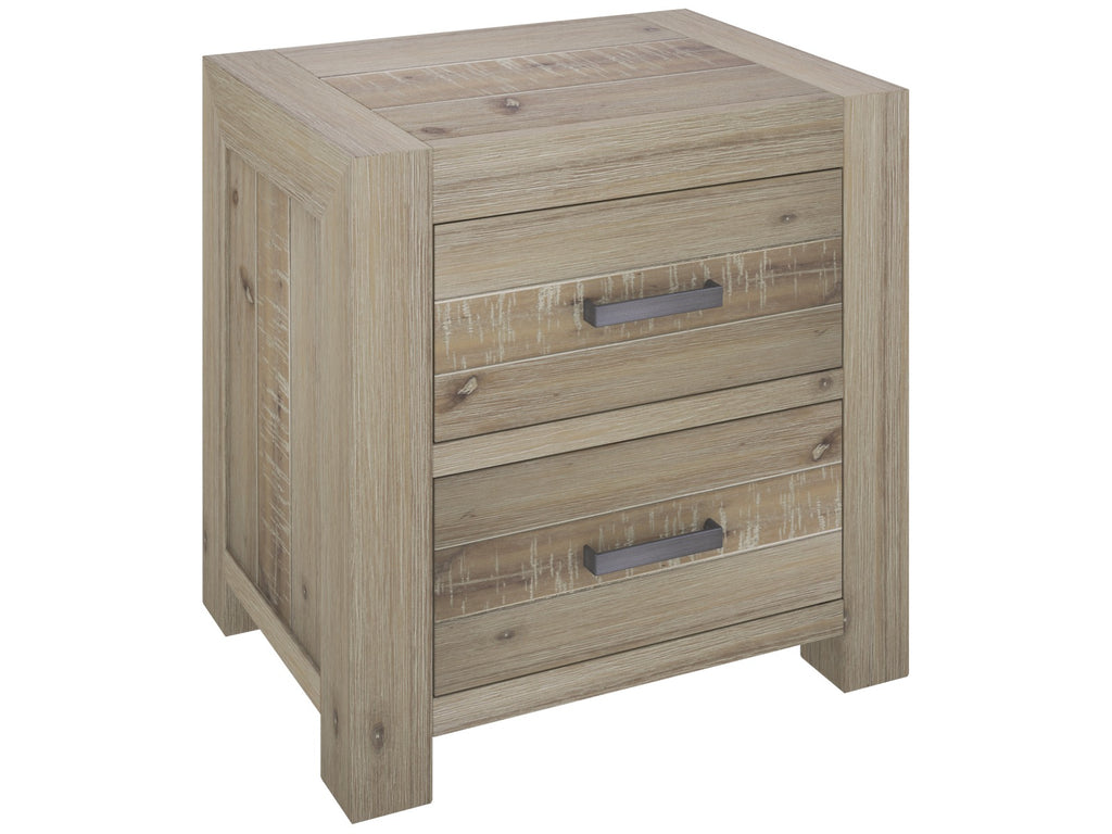 Little River 2 Drawer Bedside