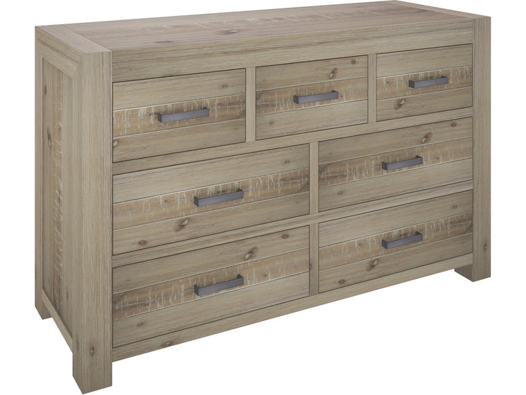 Little River 7 Drawer Lowboy