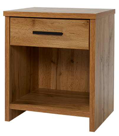 Nova 1  Drawer Bedside NOVB41