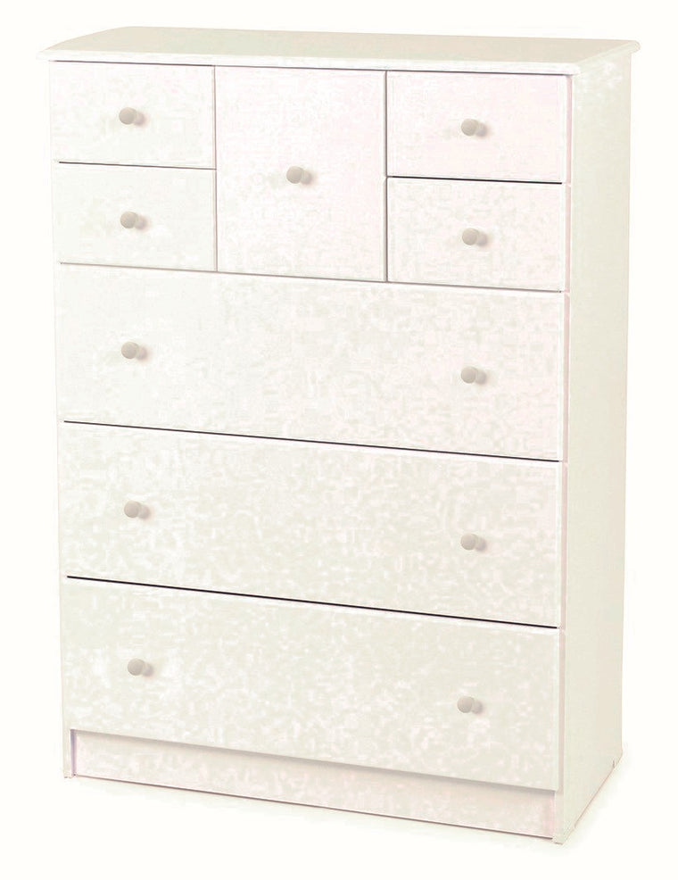 Kingston White Tallboy Scotch Chest