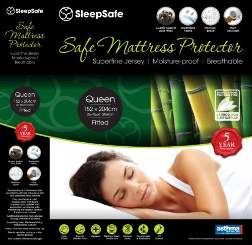 SleepSafe Waterproof Mattress Protector