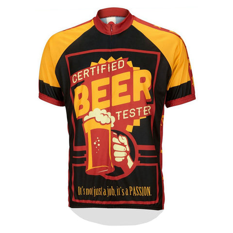 Certified Beer Tester Jersey - Vogue Cycling