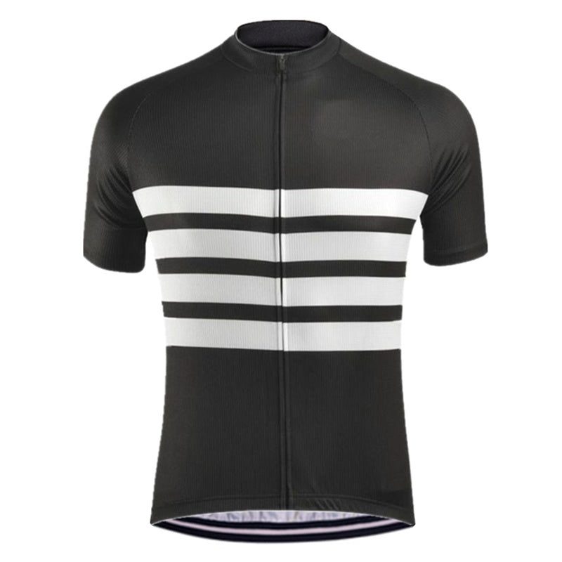 Black Iconic Cycling Jersey - Vogue Cycling