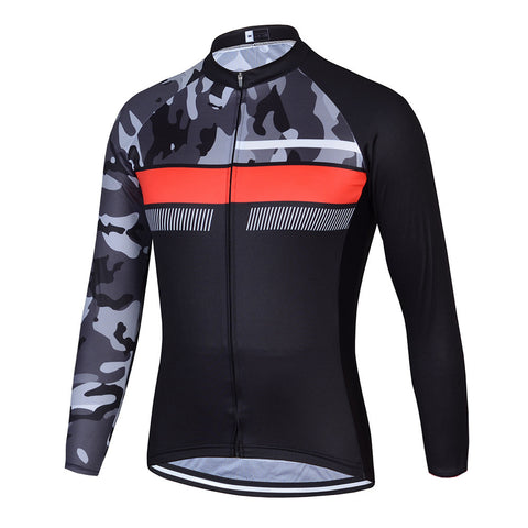 Limitless Camo Long Sleeve Jersey - Vogue Cycling