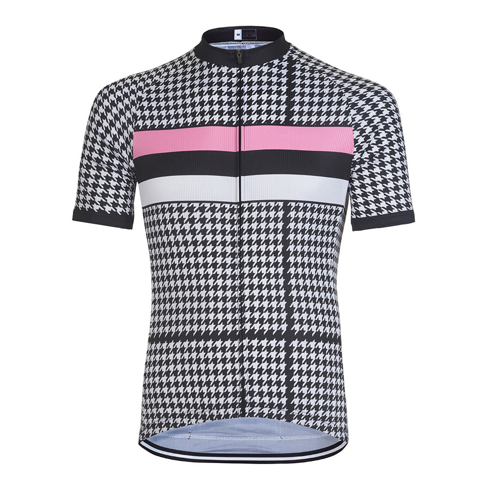 Houndstooth Cycling Jersey - Vogue Cycling