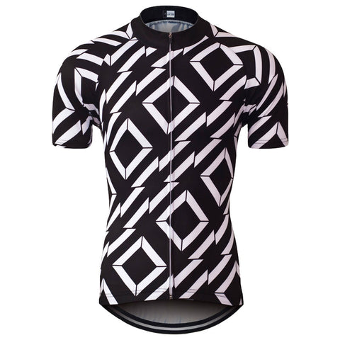 Monochrome Cycling Jersey - Vogue Cycling