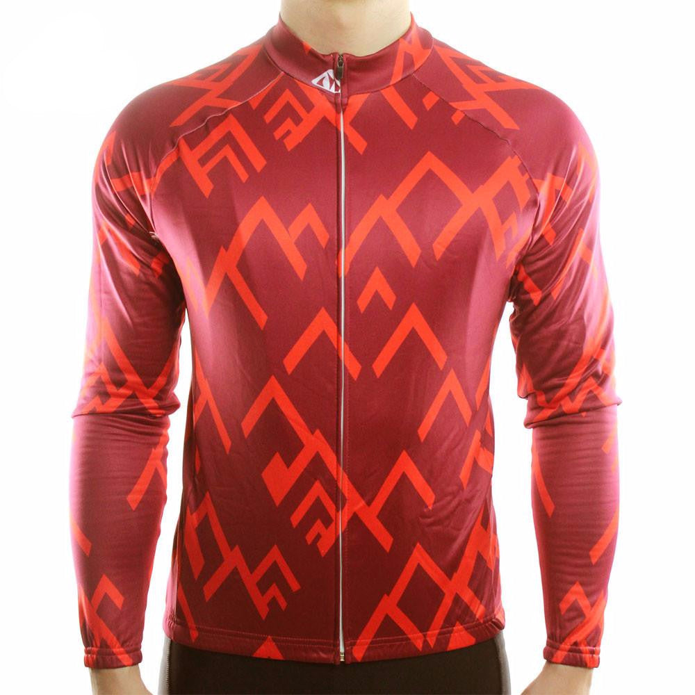 Abstract Thermal Jersey - Vogue Cycling