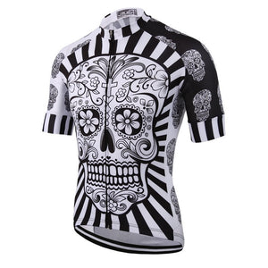 Skull Cycling Jersey - Vogue Cycling