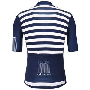 Navy and White Classic Striped Jersey
