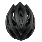 Matte Black Bicycle Helmet - Vogue Cycling